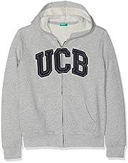 United Colors of Benetton Ucb Yazılı Sweatshirt Erkek çocuk Kapüşonlu Sweatshirt