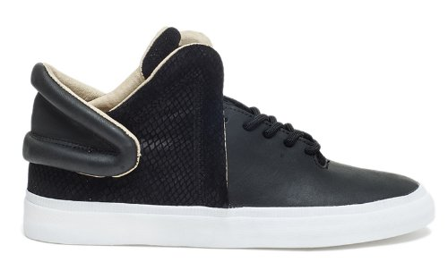 Supra Men's Falcon Black/ White Size 8
