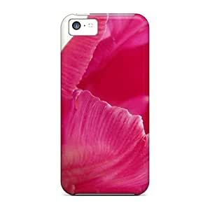 Snap-on Cases Designed For Iphone 5c- Nature Flowers Tulip