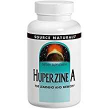 Source Naturals Huperzine A 200mcg Brain Nutrition For Learning & Memory - 60 Tablets