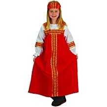 Halloween costumes accessories the halloween shop at amazon russian girl kids costume fits most children ages 3 6 solutioingenieria Image collections