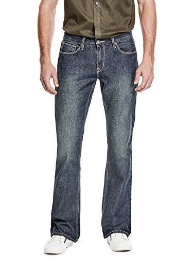 GUESS Factory Men's Marcus Bootcut Jeans (Men Guess Jeans)