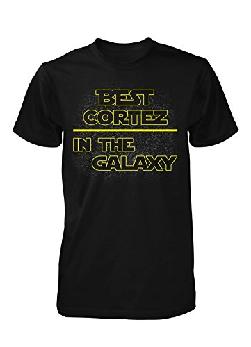 Best Cortez In The Galaxy. Awesome Gift - Unisex Tshirt Black Adult 5XL