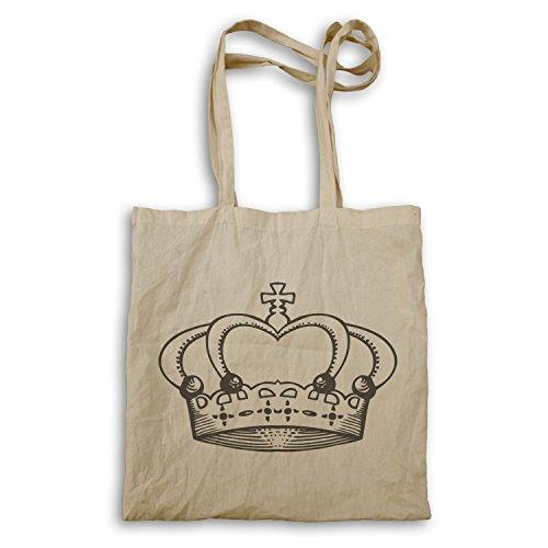Krone König Queen Art lustige Neuheit Tragetasche a561r