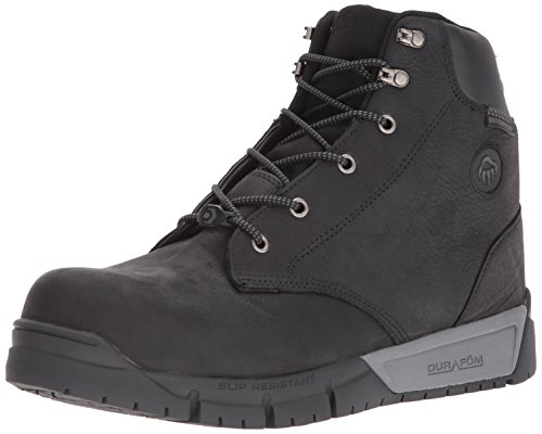 Wolverine Men's Mauler LX Composite Toe Waterproof Work Boot, Black, 9 M (Wolverine Black Boots)