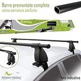 EasyOne Green Valley Barre Portatutto Portapacchi Fiat Grande Punto/Fiat Punto Evo (5 p) dal 2005