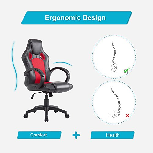 cloud mountain acepro office chair pu leather gaming chair high