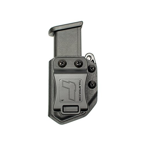 Double Stack Mag - Universal 9mm/.40 Double Stack Mag Carrier- Tulster Echo Carrier IWB/OWB (Black)