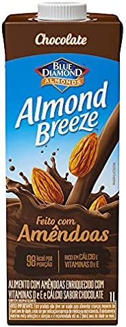 Alimento com Amêndoas Sabor Chocolate Almond Breeze 1L
