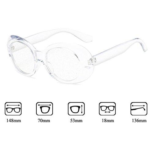 Estilo Clásica Sol De Completa Brillantes UV400 Calle Unisex De Cristal Gafas Retro Brillantes Protección Gafas De De Lentes De C6 Ovales La Moda Nuevas Persianas Diseño De xw8n6nq01