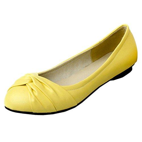 amarillo Material Sintético Mujer con Sandalias Cuña Smilice de 7q161C