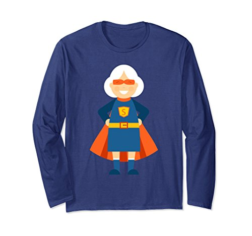 Unisex Super Grandmother Grandma shirt Amazing Mothers Day Gift Small Navy