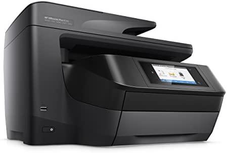 HP OfficeJet Pro 8725 AiO - Impresora multifunción (Inyección de tinta térmica, 300 x 300 DPI, 600 x 600 DPI, 1200 x 1200 DPI, A4, 216 x 356 mm), ...