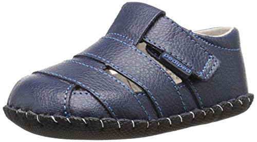 pediped Originals Ross Sandal (Infant), Navy, Medium (12-18 Months E US Infant)