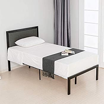 Amazon Com Zinus 16 Inch Platform Bed Metal Bed Frame