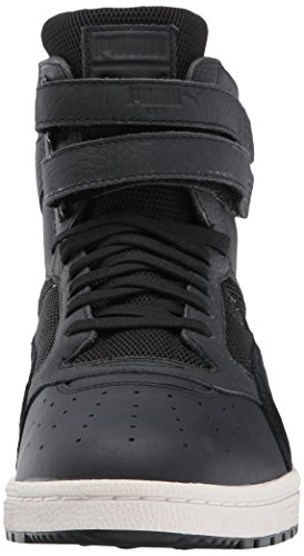 Puma - PUMA - Mens Sky II Hi Color Blocked Lthr Schuhe Puma Black-Puma Black