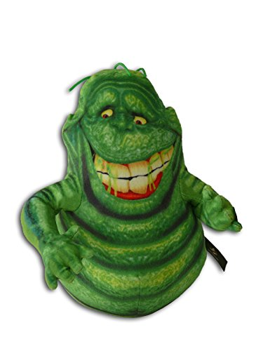Slimer 25cm Bouffe-tout Gloutton Peluche SOS Fantômes Ghostbusters 3 Fantôme Vert Ami Chasseurs Slime Créature Originale Poupée Film Comédie Serie