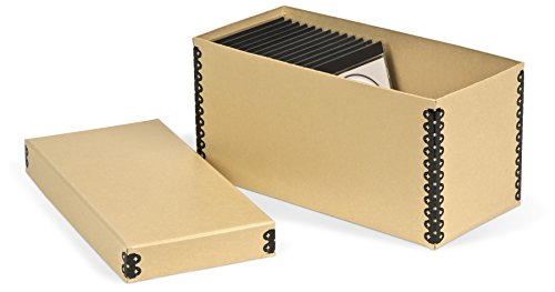 Gaylord Archival Tan CD Storage Box ()