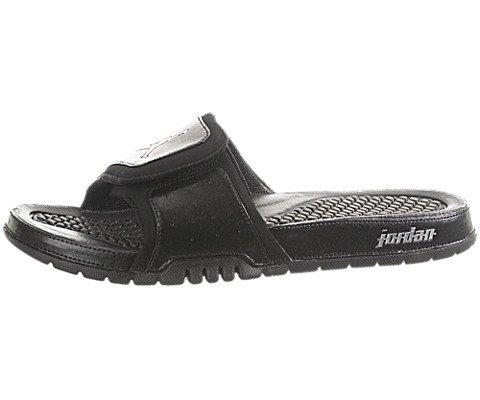 c68611b977cf4 Nike Air Jordan Hydro 2 II 312527-001 Black Metallic Silver Men s Slides (size  12) - Buy Online in KSA. Apparel products in Saudi Arabia.
