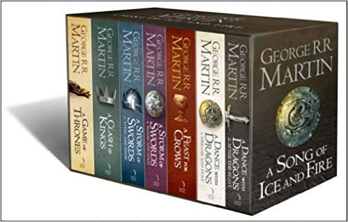 [0007477155] [9780007477159] A Song of Ice and Fire (7 Volumes)-Paperback (Game Of Thrones Box Set 1 7)