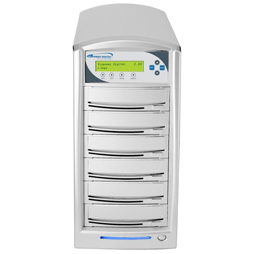 Vinpower 5 Target SharkNet Network Capable DVD CD Duplicator with 320GB HDD