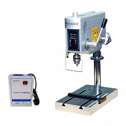 Rhegeneshop Industrial New 110V Precision Digital Display Bench Mount Press Drill Maximum Drilling Diameter 6mm by Rhegeneshop