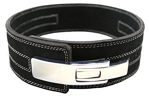 CFF 10mm Pro Lever Weightlifting Belt - Strongman, MMA, Boxing, Cross Training (X-Large)
