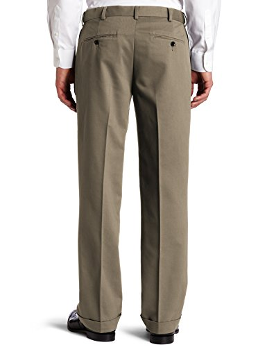 Dockers Men's Comfort-Waist Pleated Khaki Pant