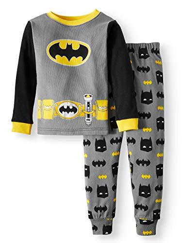DC Comics Batman Toddler Boy Cotton Tight Fit Pajamas