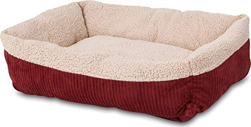Aspen Pet Self-Warming Corduroy Pet Bed Several Shapes Assor