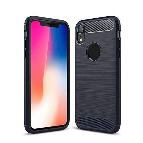 Christmas Hot Sale!!!Kacowpper Ultrathin Slim Fiber Carbon Silicone Rugged Case Cover Compatible iPhone XS/XS Max/XR -
