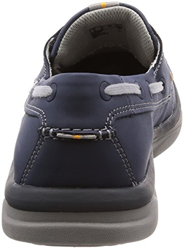 Clarks Marus Edge - Navy Synthetic