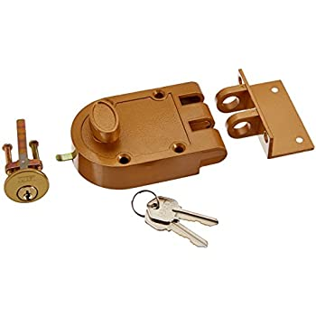 nuset jimmy proof style inter locking deadbolt lock with single cylinder
