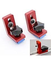 2 stks/Set T-Track Sliding Beugels voor Aluminium Profiel Houtbewerking Gereedschap