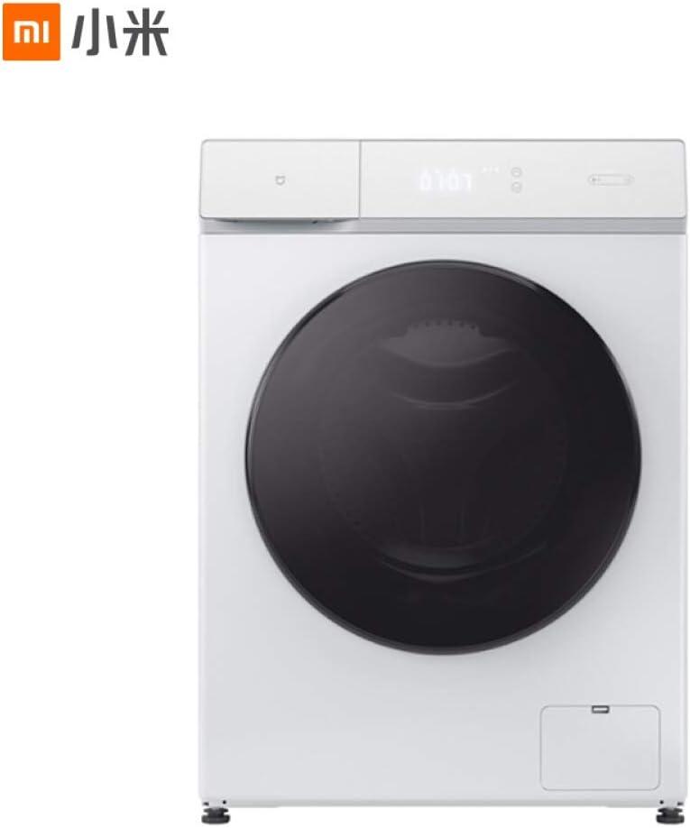 Lavadora Secado de la máquina 10 kg Tambor Secadora automática for Lavar la máquina de Cilindro de Aire de frecuencia Inteligente de Lavado de Auto-Limpieza de Secado 10KG (Color : 8kg)