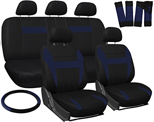 universal seat covers blue - 5