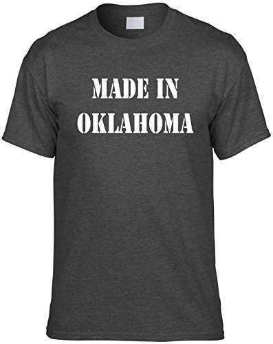 Mens T-Shirt Size XL (MADE IN OKLAHOMA) Unisex Men's Novelty - Shopping Oklahoma In