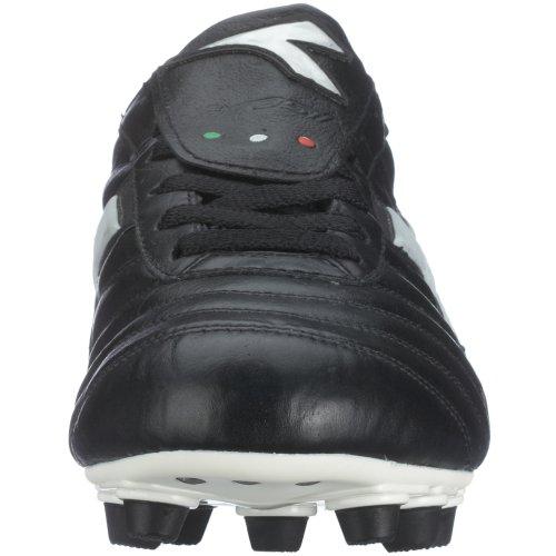 Diadora Fußballschuh Brasil MD PU, schwarz/weiß