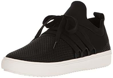 Steve Madden Women's Lancer Black Sneaker 5 US