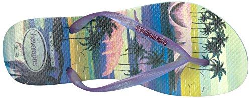 Pictures of Havaianas Women's Slim Paisage Sandal Flip Flop 8 M US 2