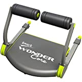 Wonder Core Smart Fitness Equipment, Black/Green