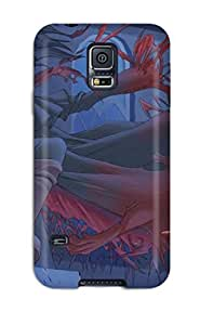 Galaxy S5 Hard Back With Bumper Silicone Gel Tpu Case Cover Hellsing
