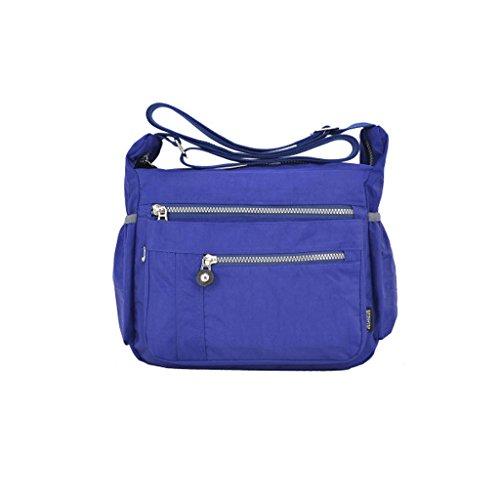 GUO - monedero de las señoras de la lona del dril de algodón del cordón de 2017smooth backpack (30 * 23cm) (correas de hombro: ajustable)