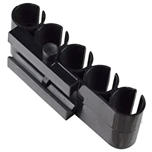 Shotgun Shell Carrier - Side Shell Holder - 12 Gauge - 5 Shell Carrier for 12 Gauge Shotguns