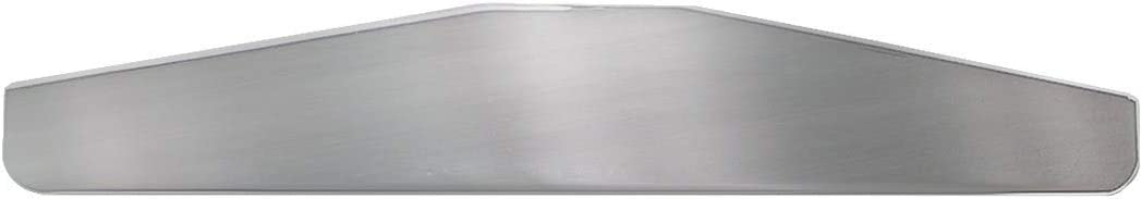 GG Grand General 30110 12 X 3 Inches Chrome Bottom Plate with Studs