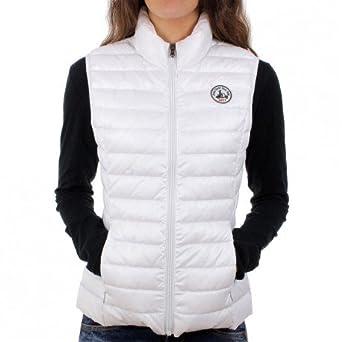 regarder ceac7 9e828 Doudoune sans manches Jott SEDA Blanc: Amazon.fr: Vêtements ...
