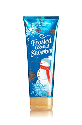 [Bath and Body Works Frosted Coconut Snowball Ultra Shea Body Cream 8 Oz] (Frosted Cream)