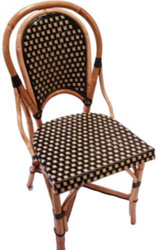 French Bistro Rattan Side Chair