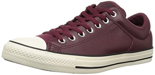 Converse CTAS High Street, Zapatillas de Deporte Unisex Adulto Multicolor (Dark Burgundy/Egret/Black 628)