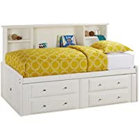 Catalina White Twin Roomsaver Bed
